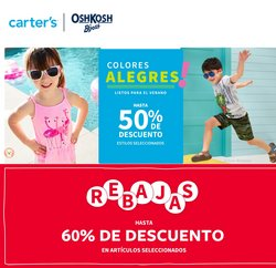 Ofertas de Juguetes y Niños en el catálogo de Carter's ( 5 días más)