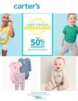 Ofertas de Juguetes y Niños en el catálogo de Carter's ( 15 días más)