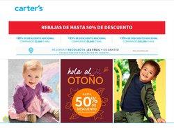 Ofertas de Juguetes y Niños en el catálogo de Carter's ( Publicado ayer)