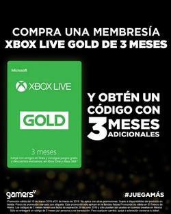 Ofertas de Gamers  en el folleto de Ciudad de México