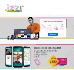 Ofertas de Electrónica y Tecnología en el catálogo de Izzi Telecom en Tijuana ( 5 días más )
