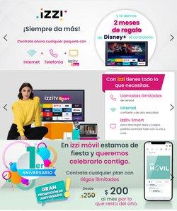 Ofertas de Izzi Telecom en el catálogo de Izzi Telecom ( 17 días más)
