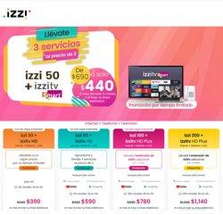 Ofertas de Izzi Telecom en el catálogo de Izzi Telecom ( Vence hoy)