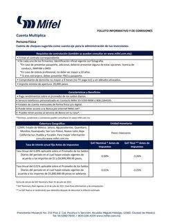Ofertas de Banca Mifel en el catálogo de Banca Mifel ( Más de un mes)