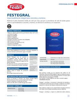 Catálogo Fester ( Más de un mes )