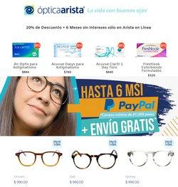 Ofertas de Ópticas en el catálogo de Ópticas Arista ( Publicado hoy)