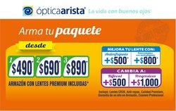 Ofertas de Ópticas en el catálogo de Ópticas Arista ( 14 días más)