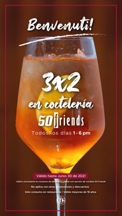 Ofertas de 50 friends en el catálogo de 50 friends ( 18 días más)