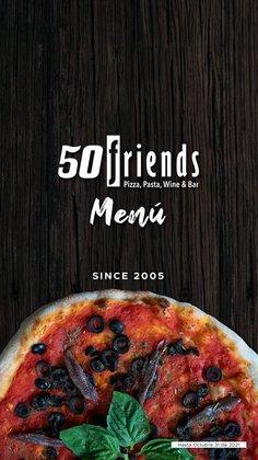 Ofertas de Restaurantes en el catálogo de 50 friends ( Más de un mes)
