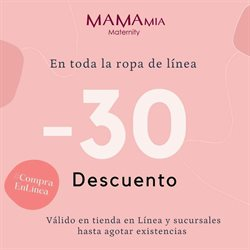 Catálogo Mama Mia Maternity ( 8 días más )