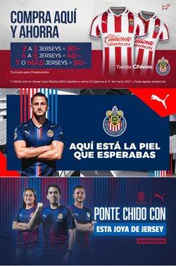 Ofertas de Deporte en el catálogo de Tienda Chivas en Guadalajara ( Vence mañana )