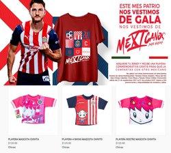 Ofertas de Deporte en el catálogo de Tienda Chivas ( 3 días más)
