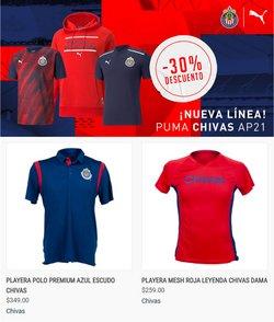 Ofertas de Deporte en el catálogo de Tienda Chivas ( 4 días más)