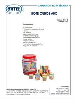 Ofertas de Cubo en Productos médicos Ortiz