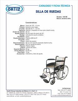 Ofertas de Farmacias y Salud en el catálogo de Productos médicos Ortiz en Aguascalientes ( Más de un mes )