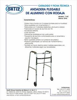 Ofertas de Farmacias y Salud en el catálogo de Productos médicos Ortiz ( 20 días más)