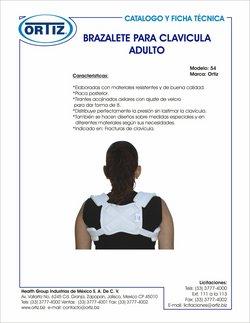Catálogo Productos médicos Ortiz ( Más de un mes)