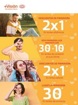 Ofertas de Ópticas en el catálogo de Ópticas Masvision en Valle de Chalco Solidaridad ( 12 días más )
