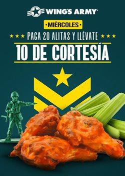 Ofertas de Restaurantes en el catálogo de Wing's Army en Naucalpan (México) ( Vence mañana )