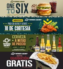 Ofertas de Restaurantes en el catálogo de Wing's Army ( 8 días más)