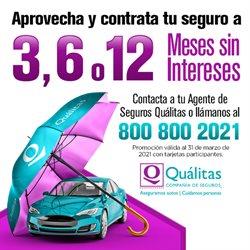 Ofertas de Bancos y Servicios en el catálogo de Quálitas en Guasave ( 3 días publicado )