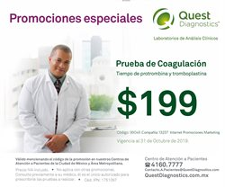 Ofertas de Quest Diagnostics  en el folleto de Iztapalapa