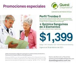 Catálogo Quest Diagnostics ( 8 días más )