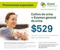 Ofertas de Quest Diagnostics en el catálogo de Quest Diagnostics ( Vence hoy)