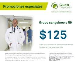 Catálogo Quest Diagnostics ( Vence hoy)