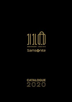 Catálogo Samsonite ( Vencido)