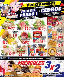 Ofertas de Hiper-Supermercados en el catálogo de El Florido ( Vence mañana)