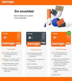 Ofertas de Bancos y Servicios en el catálogo de Banregio ( 21 días más)