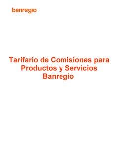 Catálogo Banregio ( Más de un mes)
