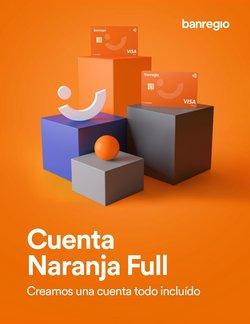 Ofertas de Bancos y Servicios en el catálogo de Banregio ( Más de un mes)