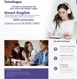 Ofertas de Ocio en el catálogo de Interlingua en Guadalupe (Nuevo León) ( Publicado hoy )