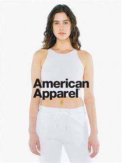 Ofertas de American Apparel  en el folleto de Cuauhtémoc (Ciudad de México)