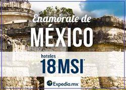 Ofertas de Expedia  en el folleto de Mérida
