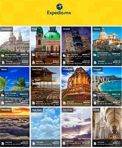 Ofertas de Expedia  en el folleto de Monterrey