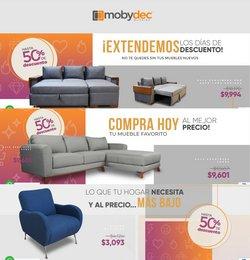 Catálogo Mobydec ( 10 días más)