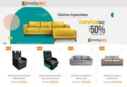 Catálogo Mobydec ( 5 días más)
