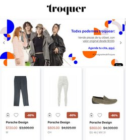 Ofertas de Ropa, Zapatos y Accesorios en el catálogo de Troquer ( 4 días más)