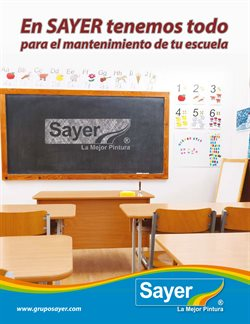 Ofertas de Sayer  en el folleto de Mérida