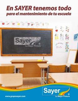 Catálogo Sayer en Ciudad de México ( Más de un mes )