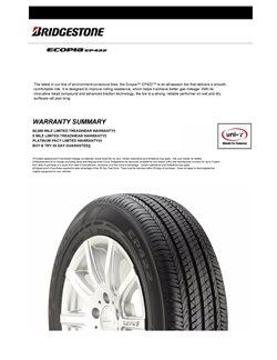 Catálogo Bridgestone en Frontera (COAH) ( Más de un mes )