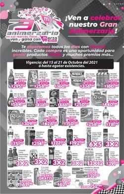 Ofertas de Hiper-Supermercados en el catálogo de Merza ( Vence hoy)