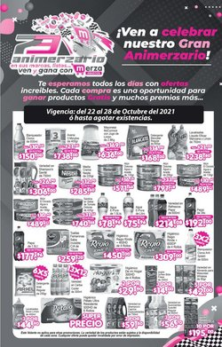 Catálogo Merza ( 4 días más)