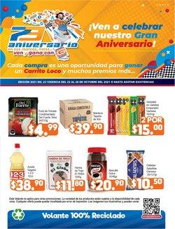 Ofertas de Hiper-Supermercados en el catálogo de Merza ( Vence mañana)