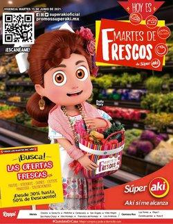 Ofertas de Hiper-Supermercados en el catálogo de Aki Gran Mayoreo ( Vence hoy)