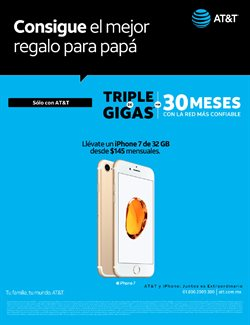 Ofertas de IPhone  en el folleto de AT&T en Ecatepec