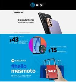 Ofertas de Electrónica y Tecnología en el catálogo de AT&T ( Vence mañana )